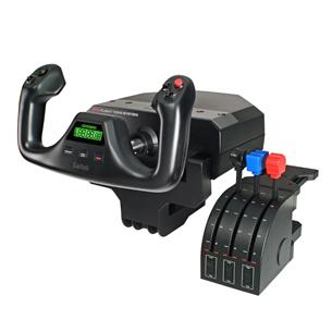 Kontrolieris lidošanas stimulatoram Saitek Pro Flight, Logitech