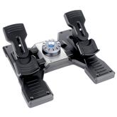 Stūres pedāļi lidošanas stimulatoram Saitek Pro Flight, Logitech