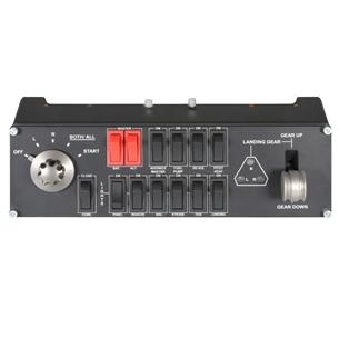 Slēdžu panelis Saitek Pro Flight Switch Panel, Logitech 945-000012