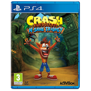 Spēle priekš PlayStation 4, Crash Bandicoot N. Sane Trilogy