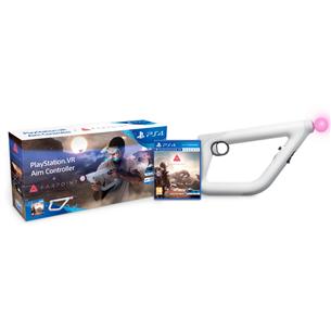 Spēle priekš PlayStation 4 VR Farpoint + Aim kontrolieris