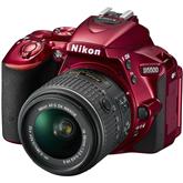 Spoguļkamera D5500 18-55mm VR, Nikon