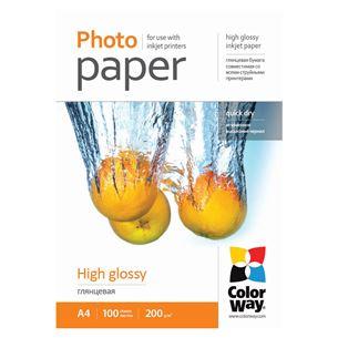 Fotopapīrs A4, ColorWay / 200g/m2, 100lpp