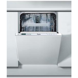 Iebūvējama trauku mazgājamā mašīna, Whirlpool / 10 komplektiem
