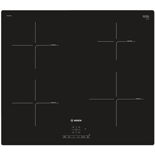 Iebūvējama indukcijas plīts virsma, Bosch / platums: 60cm