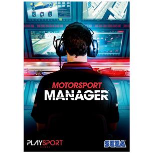 Spēle priekš PC Motorsport Manager