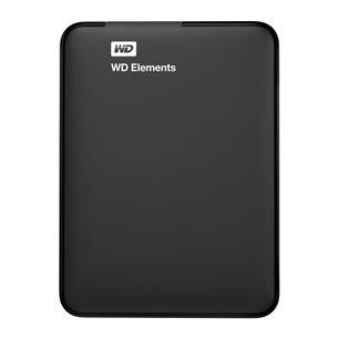 Внешний жесткий диск Western Digital Elements (1 ТБ) WDBUZG0010BBK-WESN