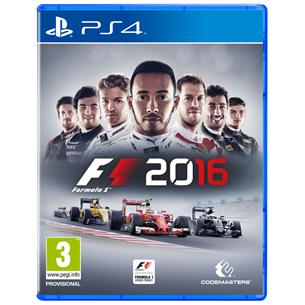 Spēle F1 2016 priekš PlayStation 4