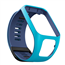 Siksniņa priekš TomTom Watch 3 zila/gaiši zila (L)