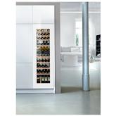 Iebūvējams vīna skapis Vinidor, Liebherr / ietilpība: 83 pudeles
