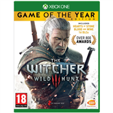 Spēle priekš Xbox One, Witcher 3 Game of the Year Edition