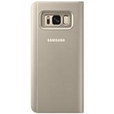 Apvalks Clear View Standing priekš Galaxy S8, Samsung