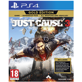 Spēle priekš PlayStation 4, Just Cause 3 Gold Edition