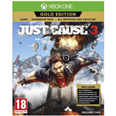 Xbox One game Just Cause 3 Gold Edition