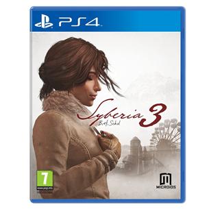 Spēle Syberia 3 priekš PlayStation 4