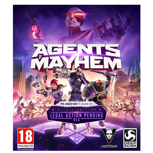Spēle priekš PC, Agents of Mayhem Day One Edition