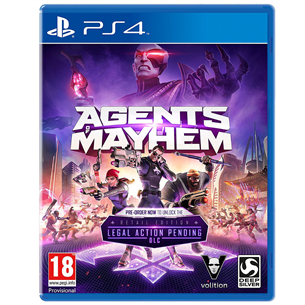 Spēle priekš PlayStation 4, Agents of Mayhem Day One Edition