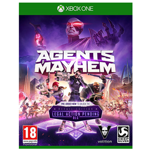 Spēle priekš Xbox One, Agents of Mayhem Day One Edition