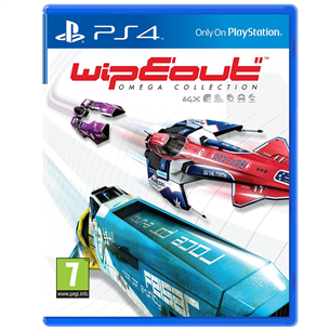 Spēle priekš PlayStation 4 Wipeout Omega Collection
