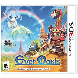 Spēle priekš Nintendo 3DS, Ever Oasis