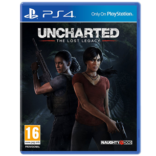 Spēle priekš PlayStation 4, Uncharted: The Lost Legacy