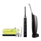 Elektriskā zobu birste Diamond Clean + AirFloss Ultra zobu starpu tīrītājs, Philips