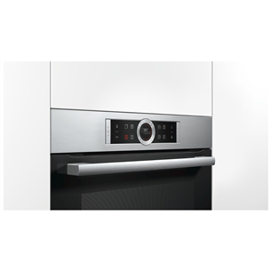 Built - in oven Bosch with steam function / capacity: 71 L