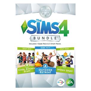 Spēle priekš PC, The Sims 4 Bundle Pack 3