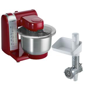 Virtuves kombains MUM4 + gaļas maļamā mašīna, Bosch