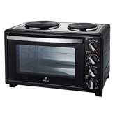 Мини-духовка с двумя варочными зонами Brock / 1500 Вт