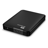 Ārējais HDD cietais disks Elements, Western Digital / 2 TB