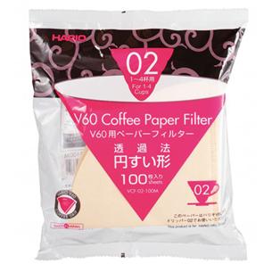Kafijas filtri V60 02, Hario / 100 gb