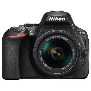 Spoguļkamera D5600 + objektīvs NIKKOR 18-55 mm