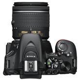 Digitālā spoguļkamera D5600 + objektīvs NIKKOR 18-55 mm