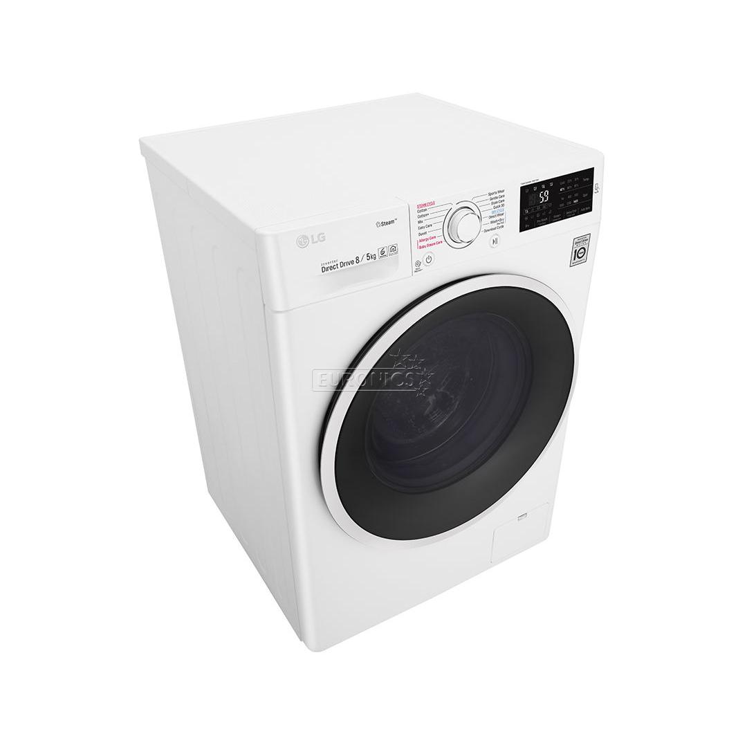 washing machine dryer lg 8kg 5kg f4j6tg0w f4j6tm0w. Black Bedroom Furniture Sets. Home Design Ideas