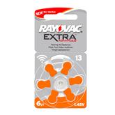 Baterijas dzirdes aparatam Hearing Aid 13, Rayovac / 6 gab