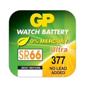 Baterija pulkstenim SR377, GP