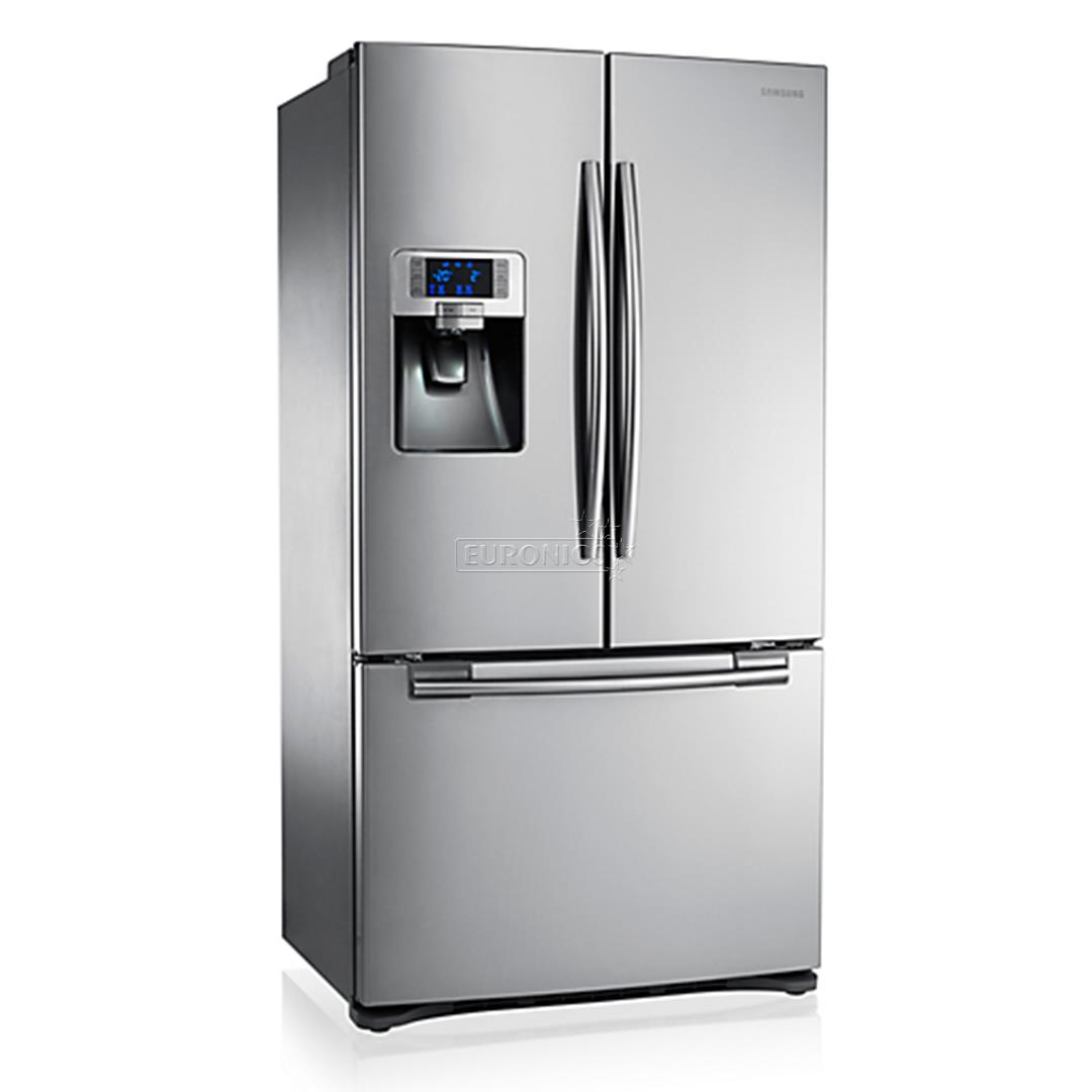 side by side refrigerator samsung height 177 4 cm rfg23uers1 xeo. Black Bedroom Furniture Sets. Home Design Ideas