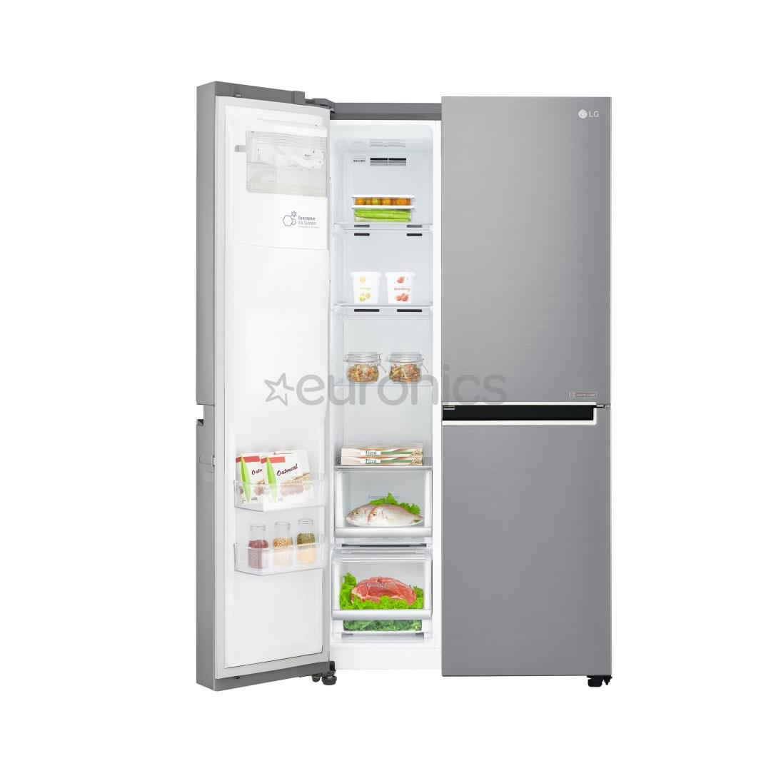 side by side refrigerator nofrost lg height 179 cm. Black Bedroom Furniture Sets. Home Design Ideas