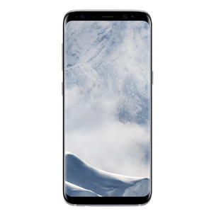 Viedtālrunis Galaxy S8, Samsung / 64GB, Arktiskais Sudrabs