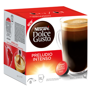 Kafijas kapsulas Nescafe Dolce Gusto Preludio Intenso, Nestle