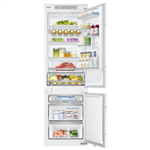 Built - in refrigerator Samsung / height: 178 cm