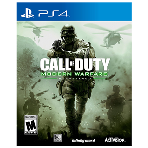 Spēle priekš PlayStation 4, Call of Duty 4: Modern Warfare Remastered