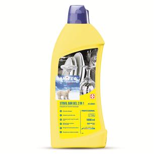 Mazgāšanas līdzeklis trauku mazgājamām mašīnām, Sanitec / 1L
