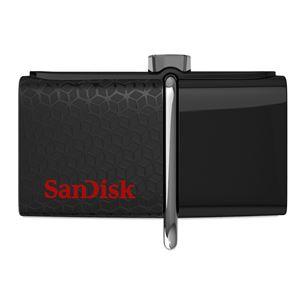USB zibatmiņa ULTRA DUAL 3.0, SanDisk / 64GB