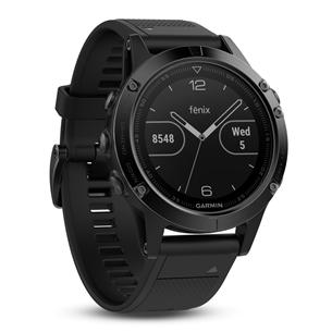 Multisporta GPS pulkstenis FENIX 5 Sapphire, Garmin