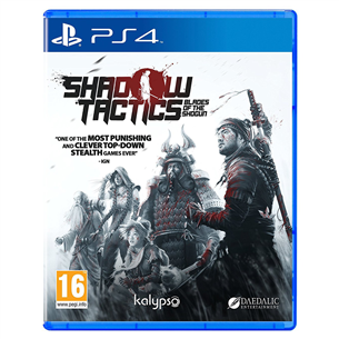 Spēle priekš PlayStation 4, Shadow Tactics: Blades of the Shogun