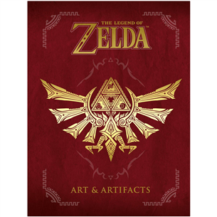 Grāmata The Legend of Zelda: Art & Artifacts