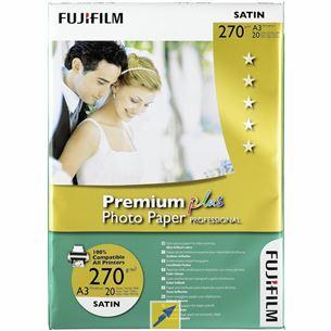 Fotopapīrs Premium Plus Satin, Fuji / A4, 270g/m2, 20 lpp