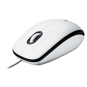 Optiskā pele M100, Logitech / balta
